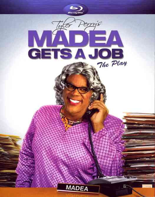 MADEA GETS A JOB (PLAY) BY PERRY,TYLER (Blu-Ray)